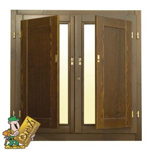 Scuri in legno interni